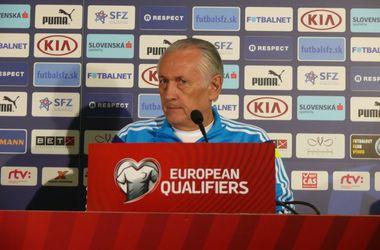 """Михаил Фоменко: """"Я спокоен за ребят. Мы знаем, как играть против Словении"""""""