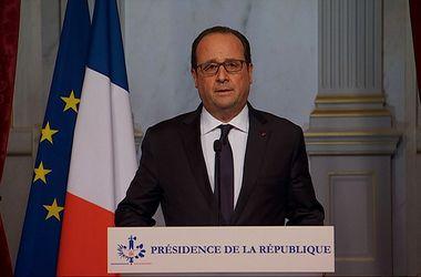Олланд: Мы знаем, кто эти террористы и откуда они появляются