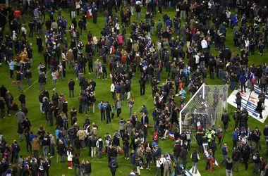 Один из взрывов рядом со стадионом под Парижем устроил смертник