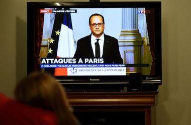 Олланд назвал точное число жертв кровавых терактов в Париже