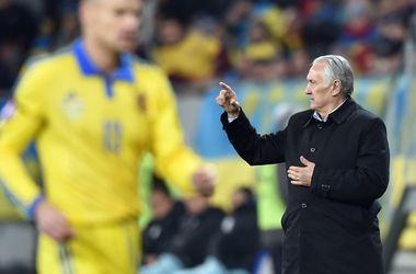 После матча во Львове сборная Украины сразу вылетела в Словению