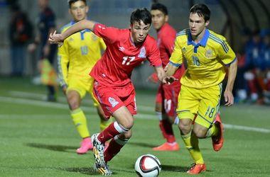 Украины уступила Турции, но вышла в элитный раунд отбора на Евро-2016 среди 19-летних