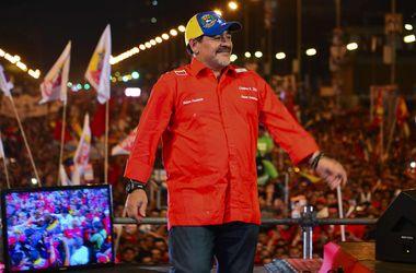 Диего Марадону прооперировали в Венесуэле