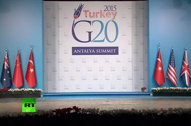 """Видеохит: саммит """"Большой двадцатки"""" посетили незваные """"гости"""""""