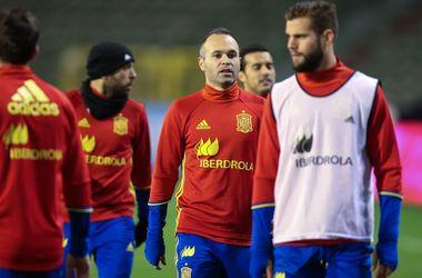 Матч Бельгия - Испания отменен из-за террористической угрозы