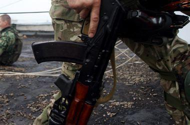 Ожесточенный бой на Донбассе сняли на видео