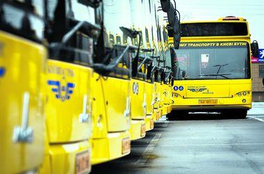 В Киеве отменили автобус на Русановку