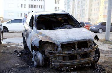 В Одесской области сожгли автомобиль депутата