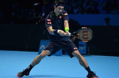Кеи Нишикори выиграл первый матч на Итоговом чемпионате АТР