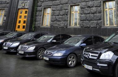 На каких автономерах ездят украинские топ-чиновники