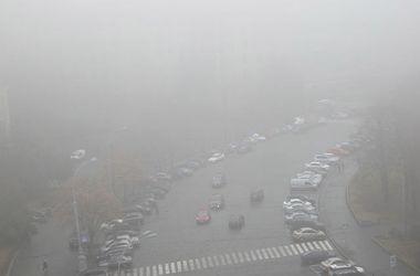 Харьков накрыл густой туман
