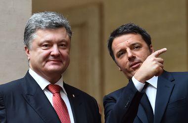 Украина и Италия договорились о сотрудничестве в энергетике и сельском хозяйстве - Порошенко