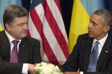 Порошенко поблагодарил Обаму за военную помощь Украине