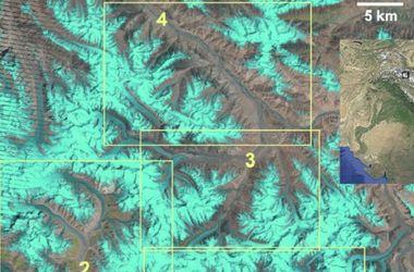 Ученые показали движение ледников