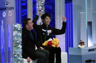 Японский фигурист Ханю побил два мировых рекорда