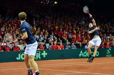 Британцы выиграли парную встречу финала Кубка Дэвиса
