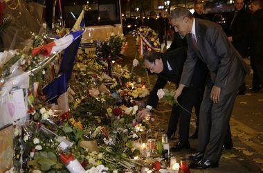 """Обама почтил память жертв теракта в парижском театре """"Батаклан"""""""