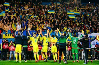 Сборная Украины потеряла одно место в рейтинге ФИФА