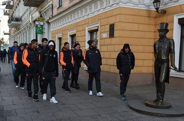 "Футболисты ""Шахтера"" прогулялись по Одессе"
