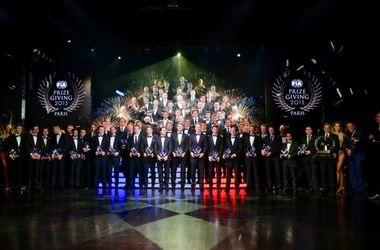 Гонщики Формулы-1 получили награды за прошедший чемпионат