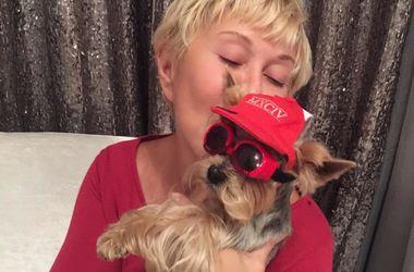 Любовь Успенская застраховала любимую собаку