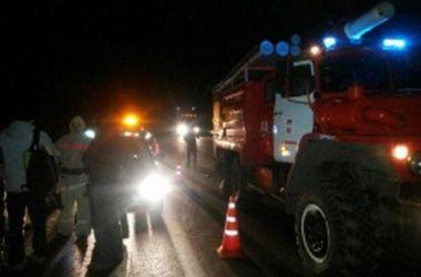 В России перевернулся автобус с украинцами, есть пострадавшие