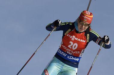 Юлия Джима стала шестой в гонке преследования на Кубке мира по биатлону