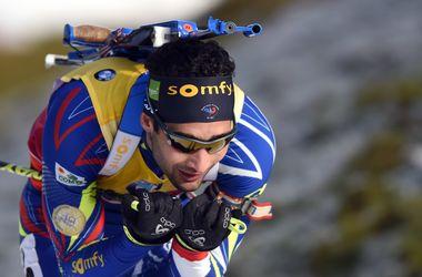 Биатлон: Мартен Фуркад выиграл гонку преследования на втором этапе Кубка мира