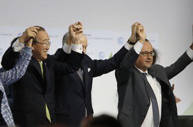 В Париже одобрили глобальное соглашение по климату