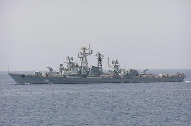 Экипаж российского корабля открыл огонь по ходу движения турецкого судна в Эгейском море