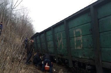 Во Львовской области поезд сошел с рельсов: два вагона упали в реку