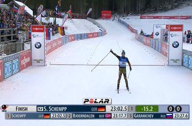 Стартовал третий этап Кубка мира по биатлону: спринт выиграл Симон Шемпп
