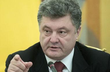 Порошенко резко ответил Путину на критику Саакашвили