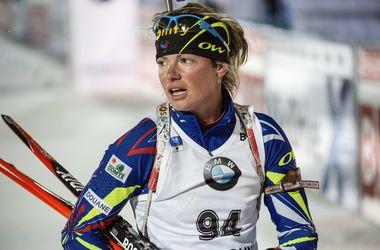 Юлия Джима вошла в топ-20 в спринте на Кубке мира по биатлону