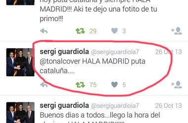 """""""Барселона"""" разорвала контракт с футболистом за твиты, сделанные два года назад"""