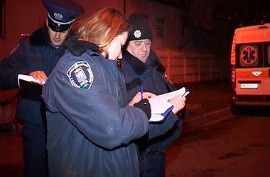 В сети появилось видео с места убийства в Киеве