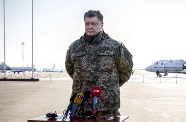 Порошенко: Россия делает ставку на диверсии и информационную войну против Украины