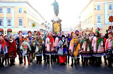 Дети Одессы записали видео-поздравление для Украины