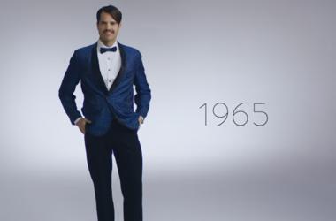 Эволюция мужской моды на Новый год за 100 лет: что изменилось