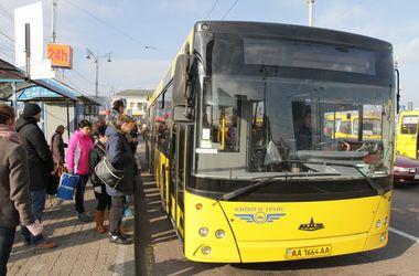 В Киеве изменят маршрут автобуса из-за новогодней ярмарки (схема)