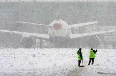 В России из-за снегопада закрыли аэропорт Краснодара