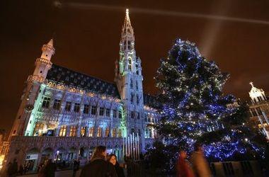В Брюсселе из-за террористической угрозы отменен новогодний фейерверк