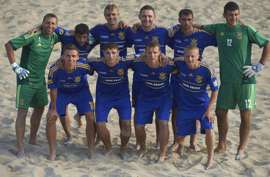 Сборная Украины по пляжному футболу завершила год на 16 месте в мировом рейтинге