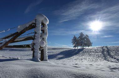 В Украину идут морозы до -20