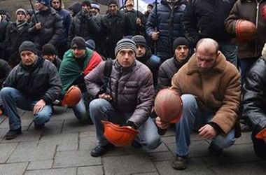 Львовские шахтеры бастуют из-за невыплаченных зарплат