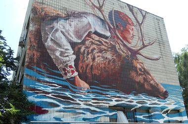 Уличное искусство в Киеве: самые необычные муралы 2015 года