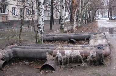 В Киеве за три дня произошло 25 повреждений теплосетей