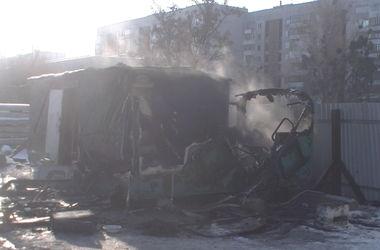 В Харькове произошел смертельный пожар