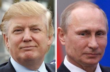 В сети высмеяли дружбу Путина и Трампа