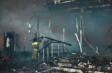 В Одессе произошел крупный пожар